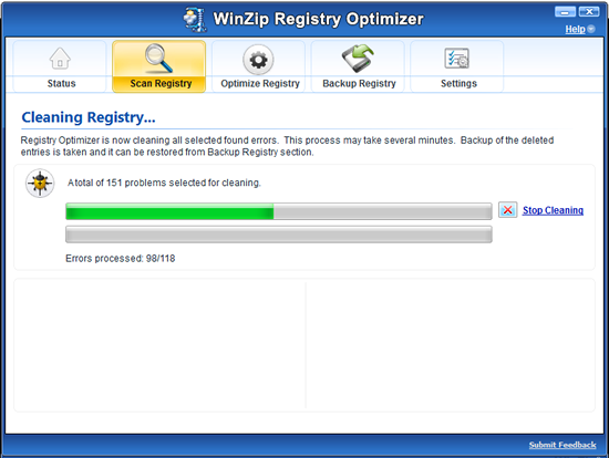 Organize and optimize with Registry Optimizer