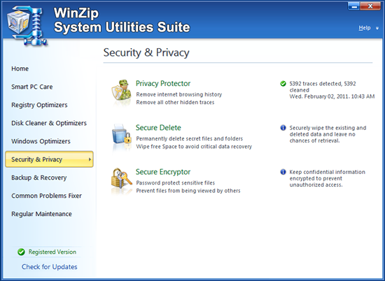WinZip® System Utilities Suite Fix and Speed Up my PC Now!