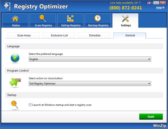 Resultado de imagen de WinZip Registry Optimizer