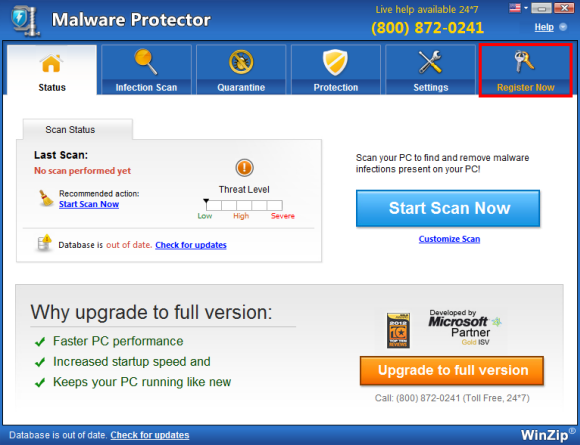malware protector key